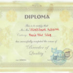 Diploma Breeder of Quality